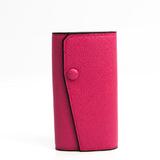 ヴァレクストラ(Valextra) V1L76 レディース レザー キーケース ピンク