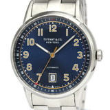 Tiffany CT60 Automatic Stainless Steel Men's Dress Watch 34668299