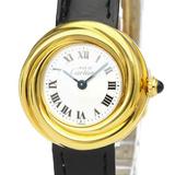 カルティエ(Cartier) マスト トリニティ クォーツ ゴールドプレーティング(GP) レディース ドレスウォッチ W1010644
