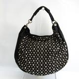 Jimmy Choo Women's Leather Studded Tote Bag Black