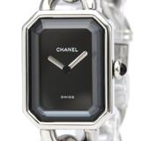 シャネル(Chanel) プルミエール クォーツ ステンレススチール(SS) レディース ドレスウォッチ H0452