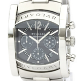 Bvlgari Assioma Automatic Stainless Steel Men's Dress Watch AA48SCH