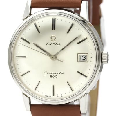 Omega Seamaster Automatic Stainless Steel Men's Dress Watch 136.011
