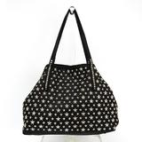 Jimmy Choo Women's Leather Tote Bag Black
