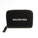 バレンシアガ(Balenciaga) エブリデイ 505049 ユニセックス レザー 小銭入れ・コインケース ブラック