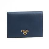 プラダ(Prada) パスケース 1M1412 Saffiano Metal カードケース Bluette(ブリエッタ)