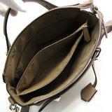 Fendi By The Way Medium 8BL124 Women's Leather Handbag,Shoulder Bag Gray Beige