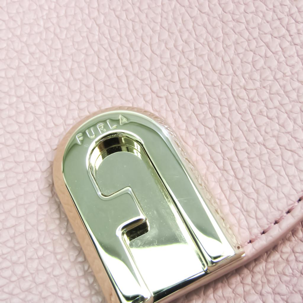 Furla Sleek BZJ6ABR Women's Leather Shoulder Bag,Tote Bag Pink