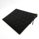 ジバンシィ(Givenchy) ダイヤモンド キルティング BB602QB08Z ユニセックス レザー クラッチバッグ ブラック