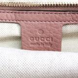 グッチ(Gucci) バンブー ショッパー ミディアム 323660 レディース レザー,バンブー ハンドバッグ,ショルダーバッグ ダスティピンク
