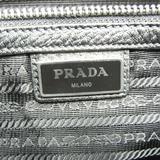 プラダ(Prada) ヴィッテロシティ メンズ レザー クラッチバッグ ブラック