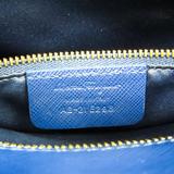 Salvatore Ferragamo Vara AB-21 E298 Women's Leather Handbag,Shoulder Bag Royal Blue
