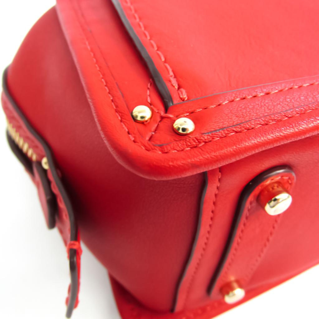 Coach Dreamer 21 67021 Women's Leather Handbag,Shoulder Bag Red Color