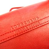 ロンシャン(Longchamp) ル・プリアージュ CUIR 1512 737 045 レディース レザー ハンドバッグ,ショルダーバッグ レッド
