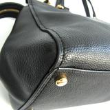 Coach FULTON SATCHEL 21346 Women's Leather Handbag,Shoulder Bag Black