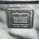 Coach Signature Jordin F76622 Women's Leather,Coated Canvas Backpack Black,Dark Brown