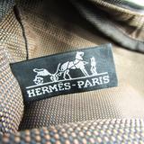 エルメス(Hermes) エール・ライン PM ユニセックス ポリアミド,ポリエステル トートバッグ ブラウン