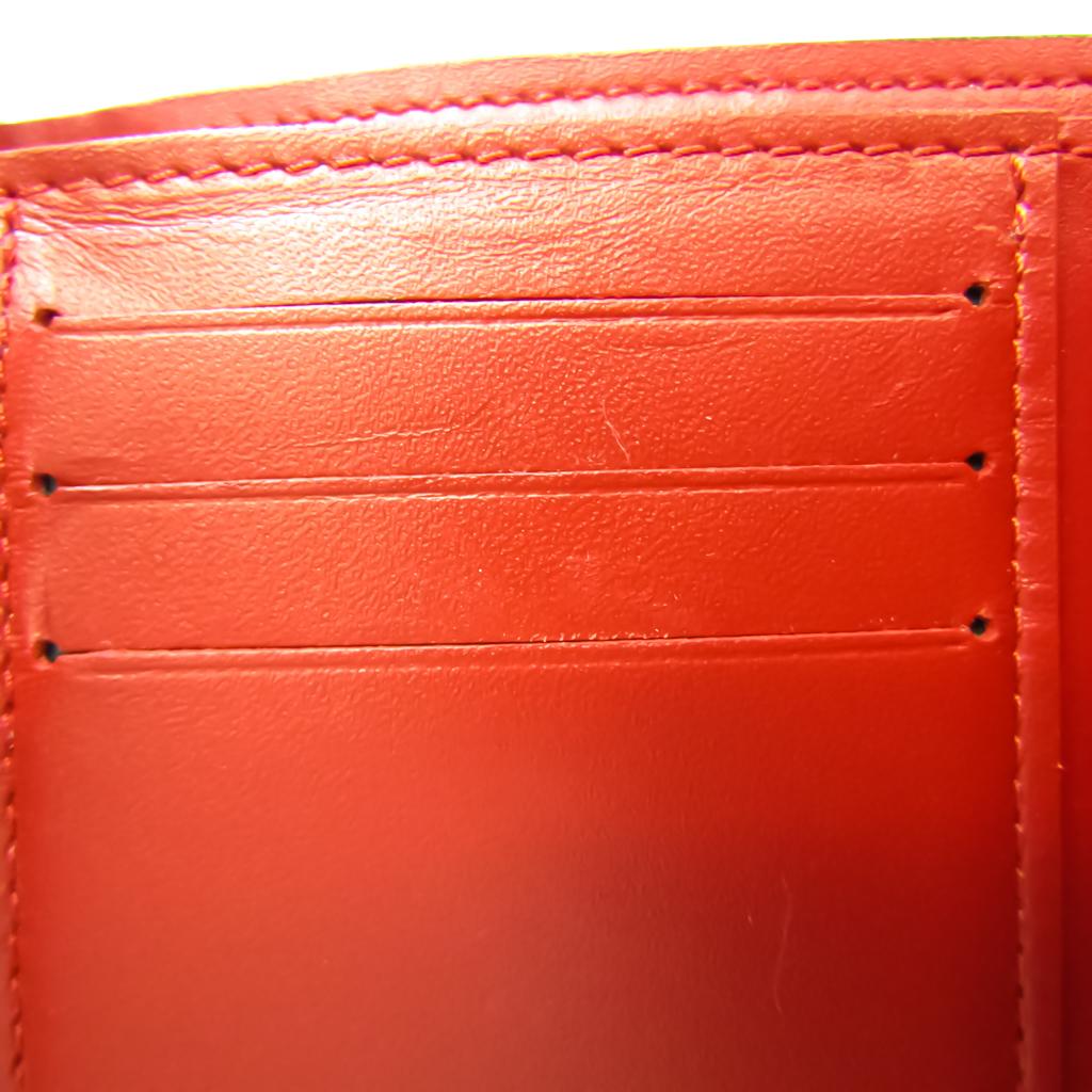 Louis Vuitton Monogram Vernis Portofeuil Victorine M62429 Women's Monogram Vernis Wallet (tri-fold) Cerise