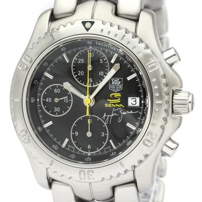 TAG HEUER Link Chronograph Ayrton Senna Limited Watch CT2115