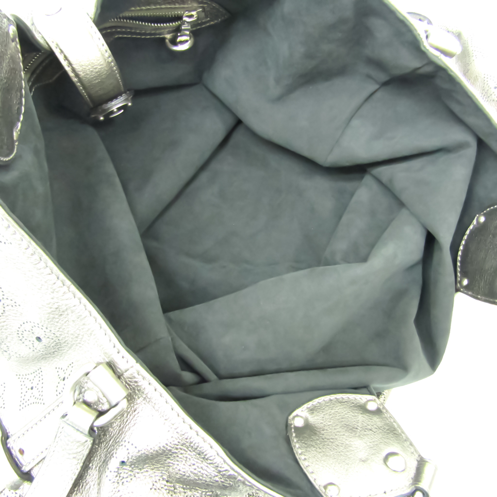 Louis Vuitton Mahina XL M95764 Women's Handbag Bronze