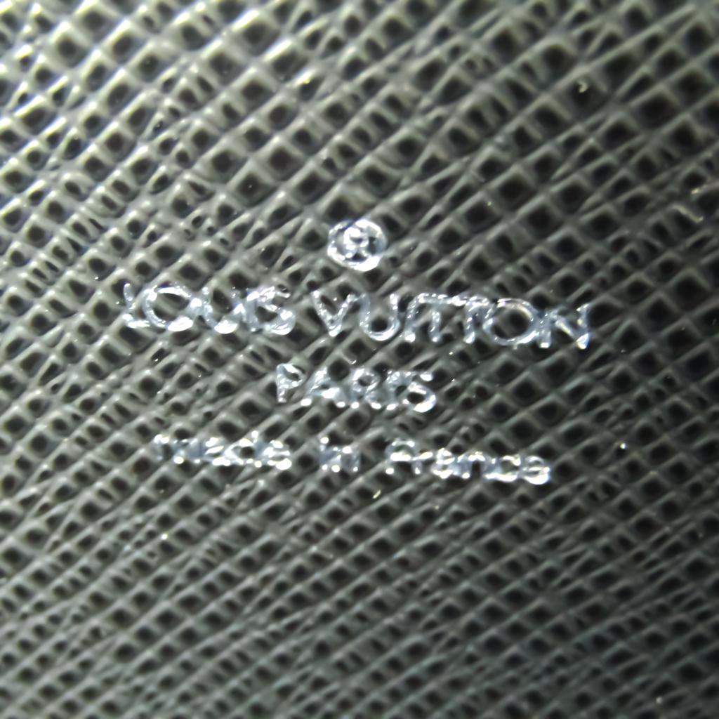 Louis Vuitton Taiga Porto Documan Rozan M30052 Men's Briefcase,Shoulder Bag Ardoise