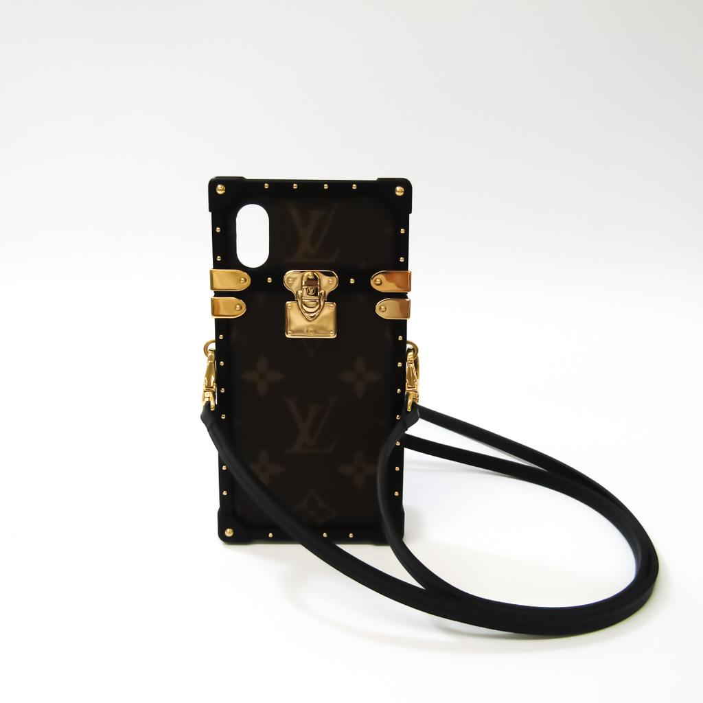 ルイ・ヴィトン(Louis Vuitton) モノグラム アイトランク PHONE X/XS アイフォンケース M62618 モノグラム バンパー モノグラム,ノワール