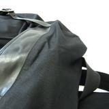 サン・ローラン(Saint Laurent) ハンティングロックサック 342609 ユニセックス キャンバス,レザー リュックサック ブラック