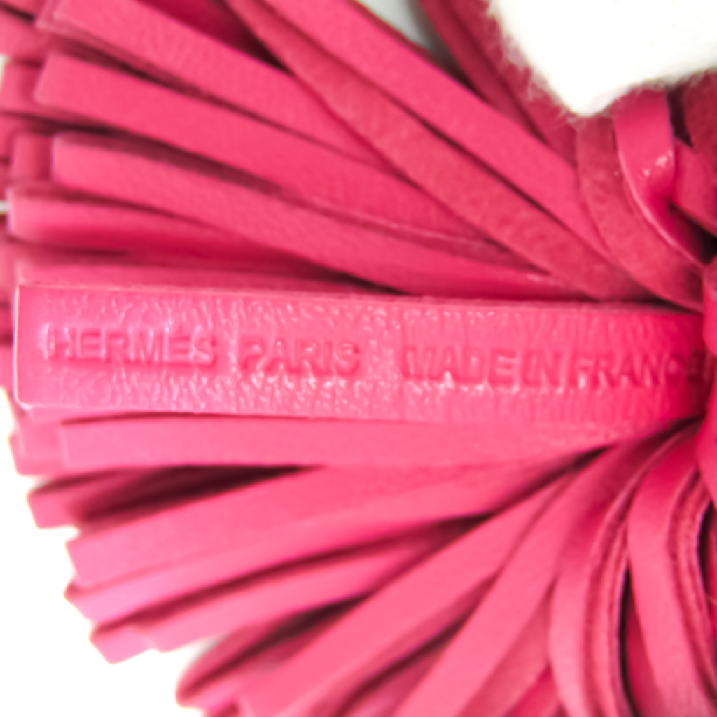 Hermes Carmen Keyring (Pink,Silver)