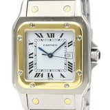 Cartier Santos Galbee Automatic Stainless Steel,Yellow Gold (18K) Men's Dress Watch