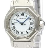 Cartier Santos Octagon Automatic Stainless Steel Women's Dress Watch