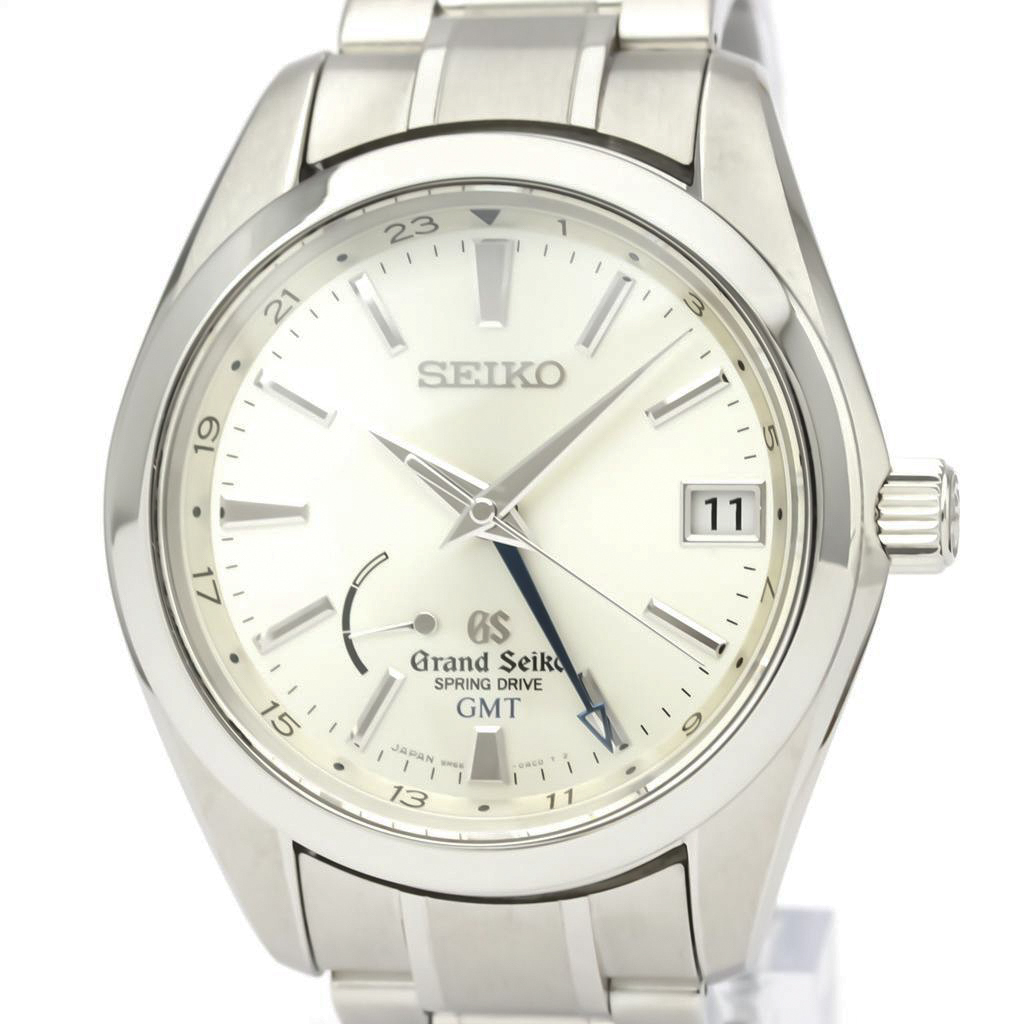 セイコー(Seiko) グランドセイコー スプリングドライブ ステンレススチール(SS) メンズ ドレスウォッチ SBGE005(9R66-0AC0)