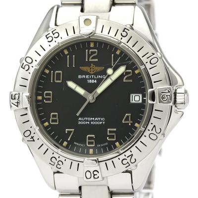 【BREITLING】ブライトリング コルト ステンレススチール 自動巻き メンズ 時計 A17035