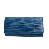 ルイ・ヴィトン(Louis Vuitton) エピ ミュルティクレ4 M63825 ユニセックス エピレザー キーケース トレドブルー