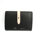 セリーヌ(Celine) ストラップ ミディアム マルチファンクション  104813 レディース レザー 財布(二つ折り) ブラック,グレージュ