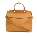 Furla Piper My Piper M Women's Leather Handbag,Shoulder Bag Beige