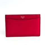 カルティエ(Cartier) コレクション・レ・マスト L3001047 レザー カードケース ピンク