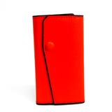 ヴァレクストラ(Valextra) V1L76 ユニセックス レザー キーケース オレンジ