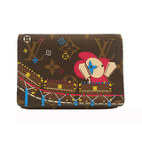 ルイヴィトン 三つ折り財布 モノグラム ポルトフォイユヴィクトリーヌ M69751