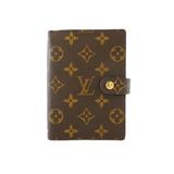 Auth Louis Vuitton Monogram Planner Cover Agenda PM R20005