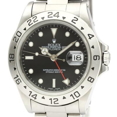 Rolex Explorer II Automatic Stainless Steel Men's Sports Watch 16570