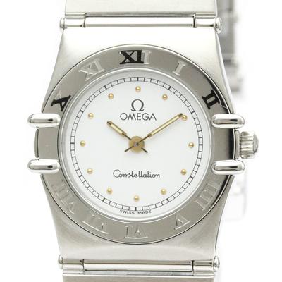 Omega Constellation Quartz Stainless Steel Women's Dress Watch 795.1080