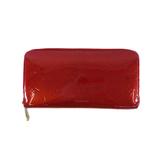 ルイヴィトン 二つ折り長財布 モノグラムヴェルニ ジッピーウォレット M91981 ポムダムール