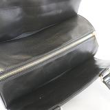 シャネル ハンドバッグ チョコバー ラムスキン ブラック ゴールド金具