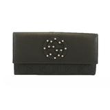 グッチ 二つ折り長財布 インターロッキングG 278598 GGキャンバス ブラック シルバー金具