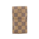 Auth Louis Vuitton Damier Cigarette Case Etui Cigarette N63024