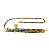 シャネル(Chanel) チェーンベルト レディース チェーンベルト ブラック,ゴールド