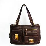 Tod's Women's Leather Handbag Brown