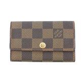 Auth  Louis Vuitton Damier Multicles6  N62630 Women's  Key Case Ebene