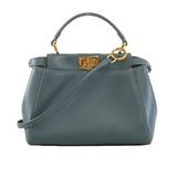 Auth Fendi Peekaboo  Bag Women's Leather Handbag,Shoulder Bag