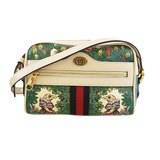 Auth Gucci Shoulder Bag Offidia Higuchi Yuko 51735 Women's GG Supreme Shoulder B